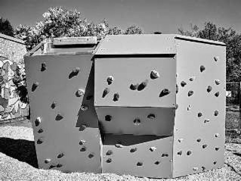 Unsere neue Boulderwand